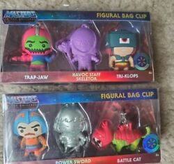 Masters Of The Universe Figural Bag Clip Walmart Exclusive Three Pack