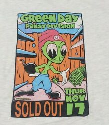 Very Rare Uncle Charlie '94 Green Day Concert Sold Out Pansy Division Tour Shirt