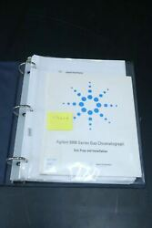 Agilent 6890 Series Gc Gas Chromatography And Chemstation Operation Prep Manual