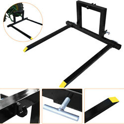 Tractor Pallet Forks Hitch Forks 3 Point Category 1 Tractor Mover Attachments