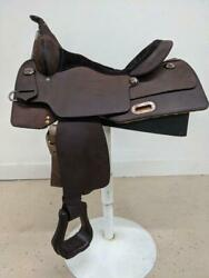 15.5 New Circle Y High Horse Western Trainer All Around Saddle Sp6315-760c-05-2