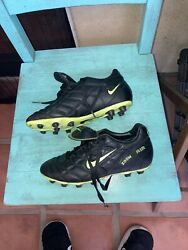 Rare Nike Vtg 1996 Air Zoom Fg Tiempo Soccer Cleats Us 6.5 Fit Like 7