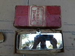Vintage Accessory Simplex Convex Rear View Mirror Model T A 1932 Ford Chevy