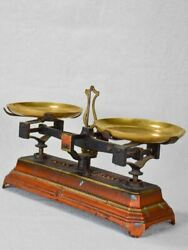 Small Antique French Kitchen Scales