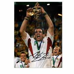 Martin Johnson Signed England Rugby Photo World Cup Winner Collectables Sport