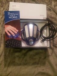 Zyto Hand Cradle - Remote Biometric Scanning - W/original Box Cords And Pamphlet
