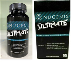 Nugenix Ultimate Test Supplement 56 Tablets Expiry 2022+ Free Shipping