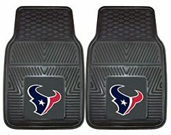 Houston Texans Official Nfl 18 Inch X 27 Inch Heavy Duty Front Seat 2-piece Car