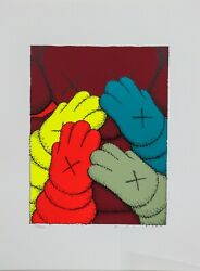 Kaws Urge Signed Screen Print Pick Your Color