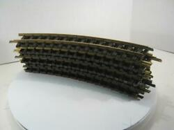 G Scale Set Of 12 Lgb Curved Track 1500 R 7.65
