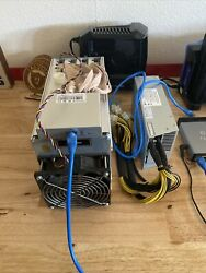 Bitmain Antminer L3 Plus 504 Mh/s With Power Supply And Power Cord 14aug