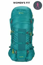 Mountain Warehouse 65l Large Backpack Rucksack Travelling Backpacking Camping
