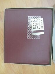 Vintage Matchbook Cover Album With 130 + Collectible Matchbook Covers Plus Loose