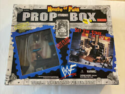 Wwf Hall Of Pain Prop Box Backstage Workout Room Playset Sealed Wwe