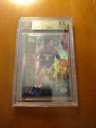 2001 Topps Chrome Fast And Furious Refractors Kobe Bryant Bgs 9.5 Gem Mint 📈 🔥