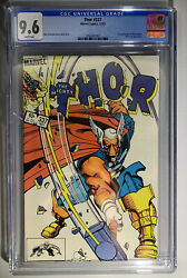 Thor Vol. 1 337 Cgc 9.6 1st App Beta Ray Bill White Pages