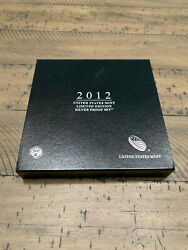 2012-s Limited Edition Silver Us Mint Eight Coin Proof Set W/ Box And Coa