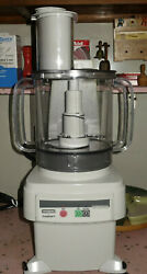 Waring Fp2200 Commercial Food Processor W/ 6 Qt. Clear Bowl And Continuous Feed
