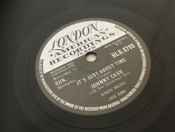 Johnny Cash Itand039s Just About Time / I Just Thought Youand039d Like To Know Uk.78.rpm