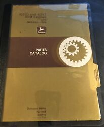 John Deere 4276d And 4276t Oem Engines And Accessories Parts Manual Pc-1469 6-1978