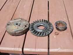 Flywheel And Fan From Briggs Engine 128m02 0001 F1 Toro 22 Recycler Personal Pace