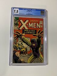 X-men 14 Cgc 7.5 Ow/w Pages Marvel 1965