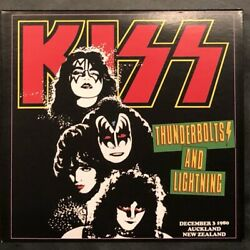 Kiss Thunderbolts And Lightning Auckland New Zealand 1980