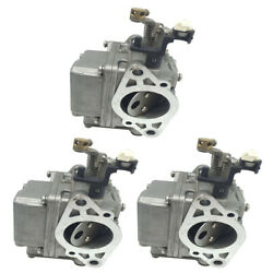 3pcs Carburretor Carb Assy For Yamaha 2-stroke 9.9hp 15hp Outboards Motor