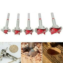 5 X Hole Saw Drill Bit W/ Wrench 15-35mm Woodworking Precision Scale Opener Tool
