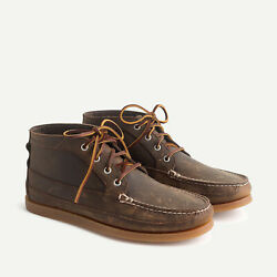 Sperry For J.crew Chukka Boots Chinook Brown Item F6170 Brand New 11h M Mens