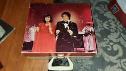 Donny And Marie Osmond Vintage Record Player With Mic, Good Working Condition