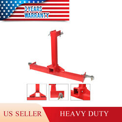 3 Point Trailer Hitch 2 Receiver Category 1 Tractor Gooseneck Drawbar Adapter