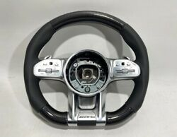 Mb G Wagon 63 W463a S E C Cls Gls 2015+ Steering Wheel Carbon Leather