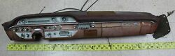 Used Oem Ford Complete Dash 1962 Galaxie Xl 500 Parts Or Restoration Fb5