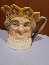 D6014 Old King Cole Musical Character Jug Large 6 Collectors Condition