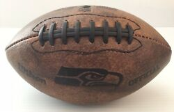 NFL Seattle Seahawks Wilson Official 9quot; Vintage Throwback Mini Football $14.99