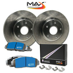 2007 Ford F350 Sd See Desc. Oe Replacement Rotors M1 Ceramic Pads F