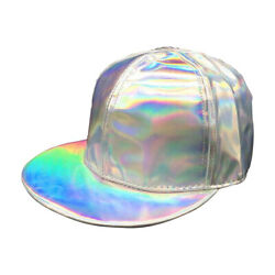 Marty Mcfly Jr Baseball Cap Back To The Future 2 Hat Costume Silver Iridescent