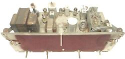 Vintage Philco 51-1733 Console Radio Untested Chassis W/ All 7 Tubes