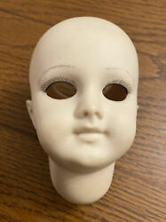 Reproduction Antique German Bisque Doll Head Armand Marseille 9 DEP Painted