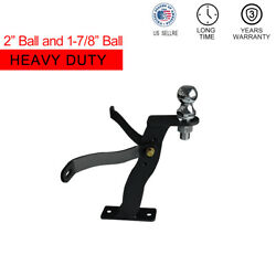 Lawn-pro Hi-hitch Trailer Hitch For Riding Lawn Mower With Ball