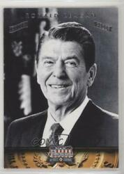 2012 Panini Americana Heroes And Legends Silver Proof /50 Ronald Reagan 40
