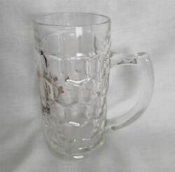 Collectional Bitburger Glass Beer Glass With Handle 0.4 Liter