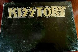 Kiss - Kisstory Book Signed By Paul And Gene Ace And Peter Limited Edition 1994