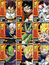 Dragon Ball Z :the Complete Uncut Series Season 1-9 54dvd Set New And Sealed
