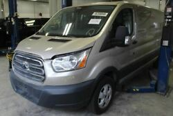 No Shipping Passenger Rear Back Door Low Roof With Window Fits 15-19 Transit 1