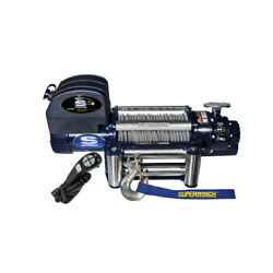 Superwinch 9500 Winch W/roller Fairlead And 15ft Hh Remot 1695200