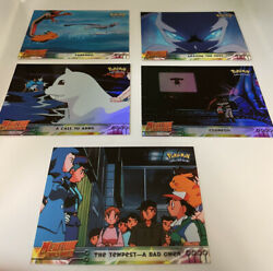 Topps - Pokemon The First Movie - Mewtwo Strikes Back - Lot Of 10 Cards - D3