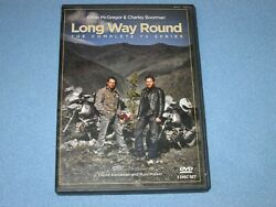 Long Way Round The Complete Tv Series Dvd, 2004, 3-disc Set Rare, Oop