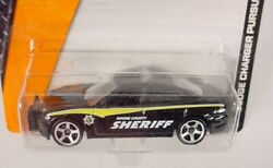 MATCHBOX # 84 BLACK DODGE CHARGER PURSUIT BOONE COUNTY SHERIFF